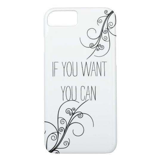 Capa iPhone 8/ 7 Case Iphone 7 - You Can