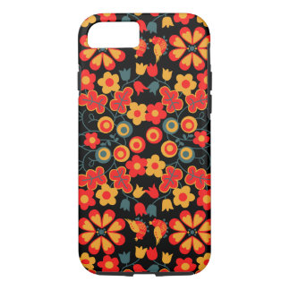 Capa iPhone 8/ 7 Caso 7 floral do iphone 8