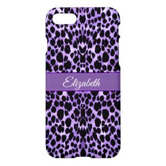 Capa iPhone 8/7 Caso animal do iPhone X do impressão do leopardo