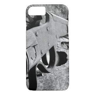 Capa iPhone 8/ 7 Caso antigo do telemóvel da arma