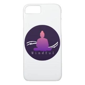 "Capa iPhone 8/ 7 Caso bonito ""consciente"" de Buddha Iphone"