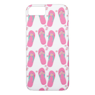 Capa iPhone 8/ 7 Caso bonito de IPhone 6/6S dos chinelos