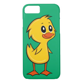 Capa iPhone 8/ 7 Caso bonito do iPhone 7 do pato dos desenhos