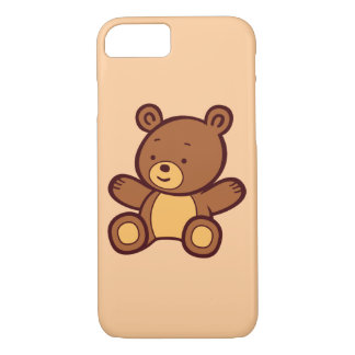 Capa iPhone 8/ 7 Caso bonito do iPhone 7 do urso de ursinho dos