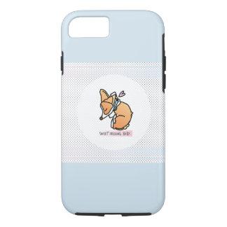 Capa iPhone 8/ 7 Caso bonito do telefone do filhote de cachorro do