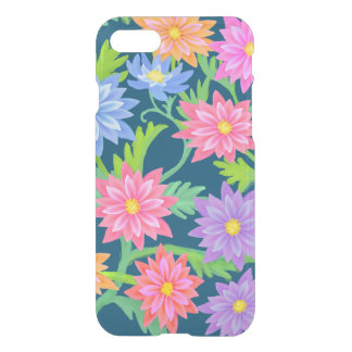 Capa iPhone 8/7 Caso claro do iPhone 7 florais barrocos do jardim