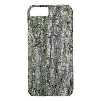 Capa iPhone 8/ 7 Caso com a estrutura do latido de árvore