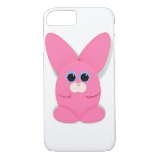 Capa iPhone 8/ 7 Caso cor-de-rosa de Bunn