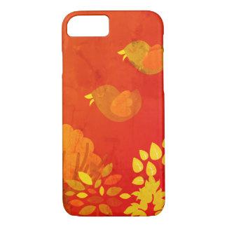 Capa iPhone 8/ 7 Caso de BirdsPhone do outono