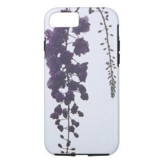 Capa iPhone 8/ 7 Caso de Iphone 7 das glicínias