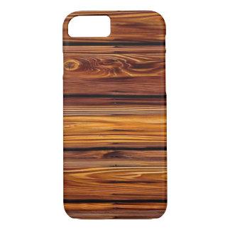 Capa iPhone 8/ 7 Caso de madeira do iPhone X/8/7 do celeiro mal lá