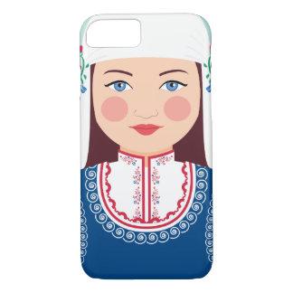 Capa iPhone 8/ 7 Caso de Matryoshka do búlgaro