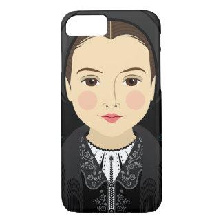 Capa iPhone 8/ 7 Caso de Matryoshka do Romanian