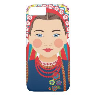 Capa iPhone 8/ 7 Caso de Matryoshka do ucraniano