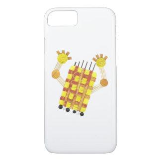 Capa iPhone 8/ 7 Caso de patinagem de IPhone 7 do sabão