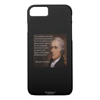 """Capa iPhone 8/ 7 """"Caso de Smartphone do líder inimigo"""" de Alexander"""
