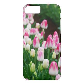 Capa iPhone 8/ 7 caso do campo da tulipa do iPhone 7