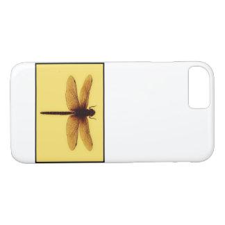 Capa iPhone 8/ 7 Caso do design da libélula