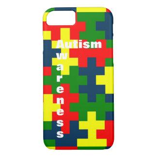 Capa iPhone 8/ 7 Caso do dispositivo da consciência do autismo