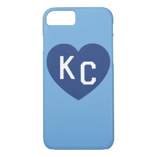 Capa iPhone 8/ 7 Caso do iPhone 6 do coração do KC