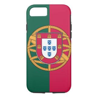 Capa iPhone 8/ 7 caso do iPhone 7, bandeira portuguesa