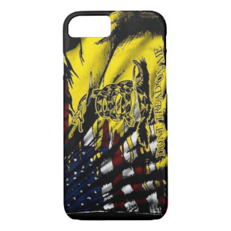 Capa iPhone 8/ 7 Caso do iPhone 7 da bandeira de Gadsden