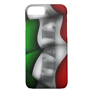 Capa iPhone 8/ 7 Caso do iPhone 7 da bandeira de Italia