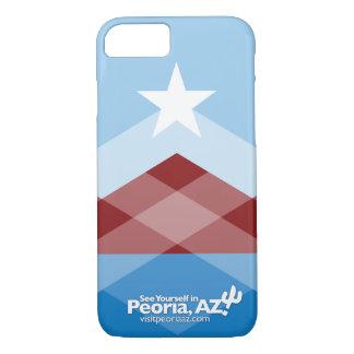 Capa iPhone 8/ 7 Caso do iPhone 7 da bandeira de Peoria