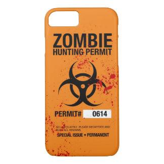 Capa iPhone 8/ 7 Caso do iPhone 7 da caça do zombi