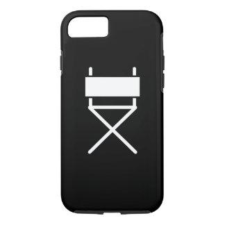 Capa iPhone 8/ 7 Caso do iPhone 7 da Cadeira Pictograma do diretor