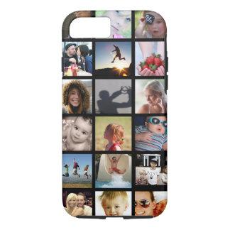Capa iPhone 8/ 7 Caso do iPhone 7 da colagem da foto do cliente (-
