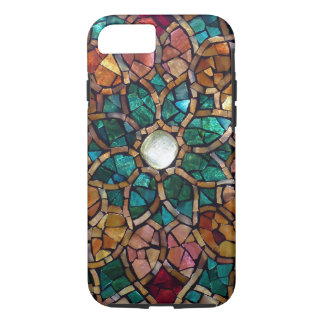 "Capa iPhone 8/ 7 Caso do iPhone 7 da estrela outono"" do mosaico do"