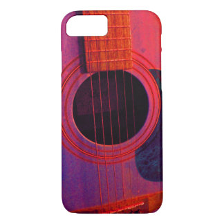 Capa iPhone 8/ 7 Caso do iPhone 7 da guitarra acústica mal lá