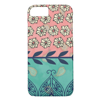 Capa iPhone 8/ 7 Caso do iPhone 7 da margarida de Boho