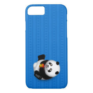 Capa iPhone 8/ 7 Caso do iPhone 7 da panda do rolamento
