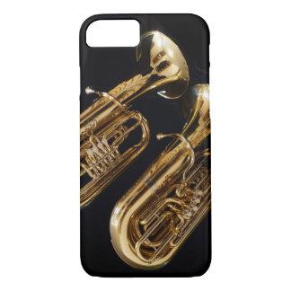 Capa iPhone 8/ 7 Caso do iPhone 7 da tuba