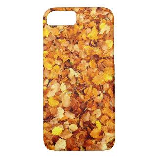 Capa iPhone 8/ 7 Caso do iPhone 7 das folhas de outono