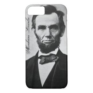 Capa iPhone 8/ 7 Caso do iPhone 7 de Abraham Lincoln