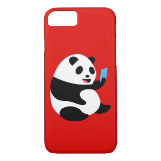 "Capa iPhone 8/ 7 Caso do iPhone 7 de Apple: De ""panda Selfie """