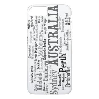 Capa iPhone 8/ 7 Caso do iPhone 7 de AUSTRÁLIA
