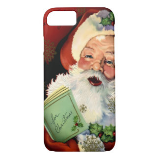 Capa iPhone 8/ 7 Caso do iPhone 7 de Papai Noel mal lá