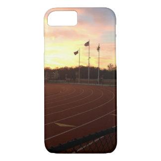 Capa iPhone 8/ 7 Caso do iPhone 7 do atletismo da bandeira