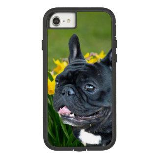 Capa iPhone 8/ 7 Caso do iphone 7 do buldogue francês