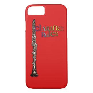 Capa iPhone 8/ 7 Caso do iPhone 7 do clarinete