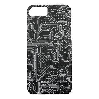 Capa iPhone 8/ 7 Caso do iPhone 7 do conselho de circuito do