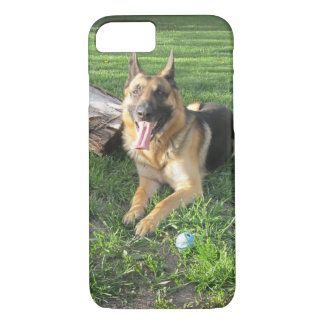 Capa iPhone 8/ 7 Caso do iPhone 7 do german shepherd