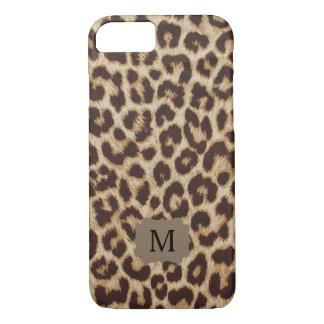 Capa iPhone 8/ 7 Caso do iPhone 7 do impressão do leopardo do
