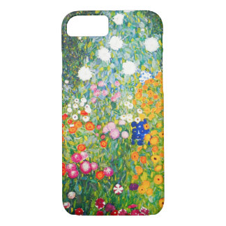 Capa iPhone 8/ 7 Caso do iPhone 7 do jardim de Gustavo Klimt