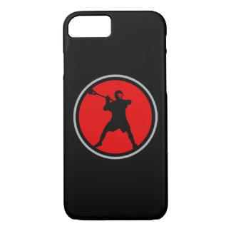 Capa iPhone 8/ 7 Caso do iPhone 7 do jogador do Lacrosse