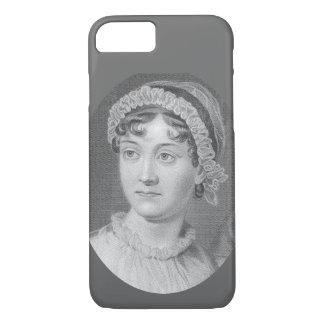 Capa iPhone 8/ 7 Caso do iPhone 7 do retrato de Jane Austen